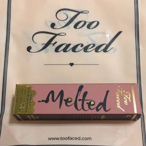 Too Faced melted lipstick.